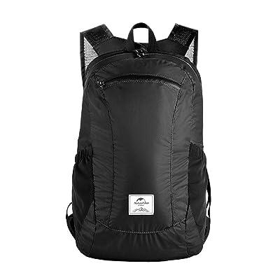 well-wreapped Multifunctional Folding Backpack, Wear-resistant Waterproof Nylon Two Shoulder Sports Rucksack, Leisure Hiking Mountaineering Knapsack, Unisex Camping Breathable Backpack