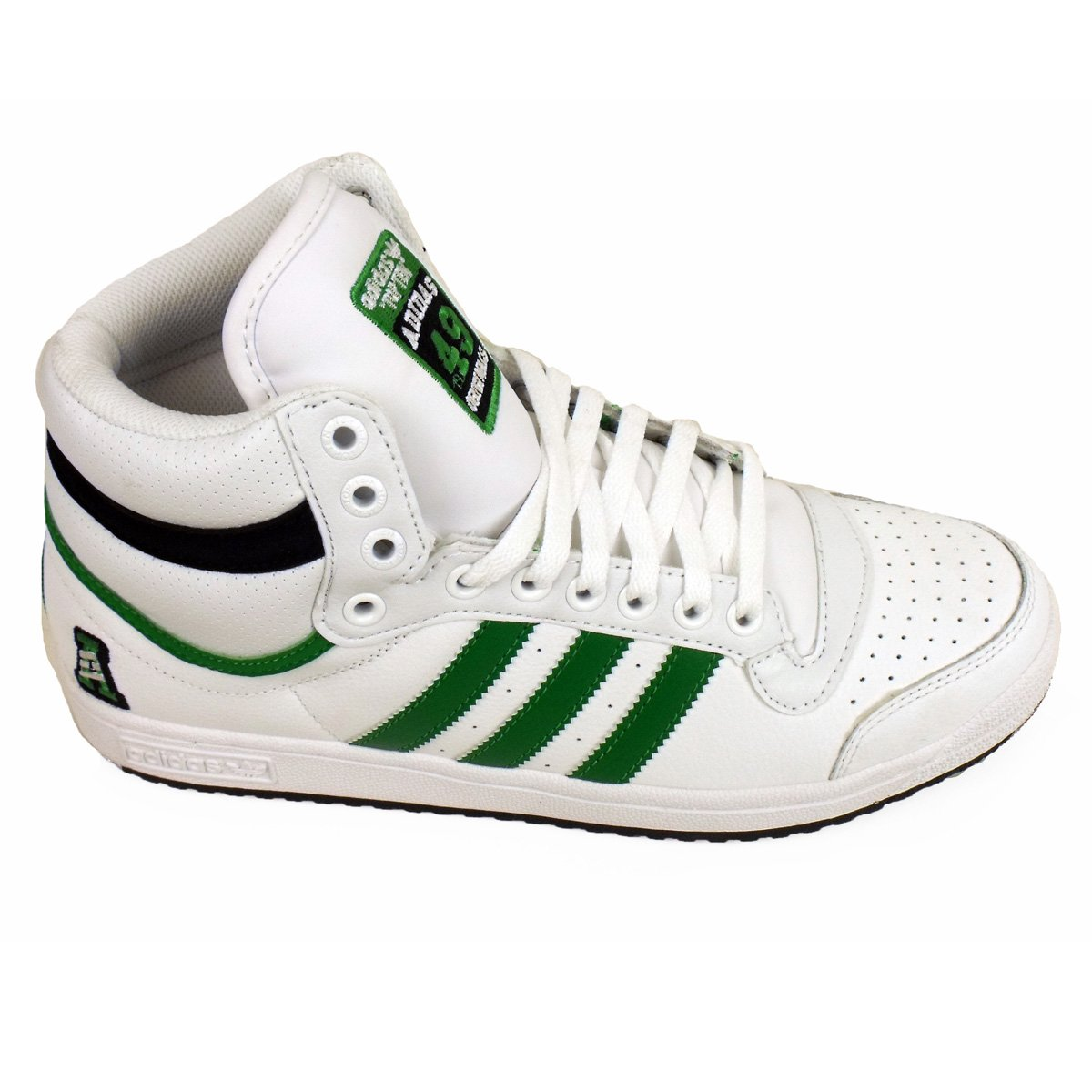 on sale b1b30 889c1 Mens Adidas Top Ten Hi Tops Basketball Boot Trainers Ankle Skate Shoe UK 12   Amazon.co.uk  Shoes   Bags