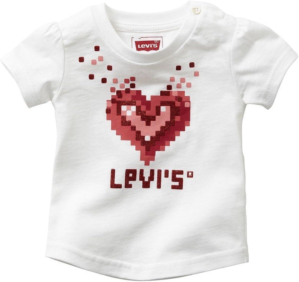Camiseta Levis Blanca Corazón 24M Blanco: Amazon.es: Ropa y accesorios