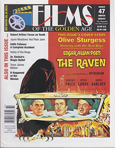 Films of the Golden Age No. 47 Winter 2006/2007 The Raven cover (Films Of The Golden Age Magazine)