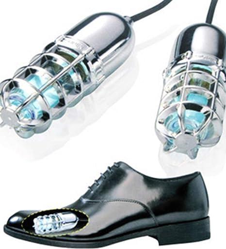 1b1850eb Esterilizador de zapatos con luz ultravioleta, elimina los malos olores y  los hongos en las