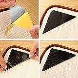 Fainosmny Christmas Decor 4 PC Carpet Pad Non Slip Tri Sticker Mat Pads Anti Slip Silicone Mat Pads