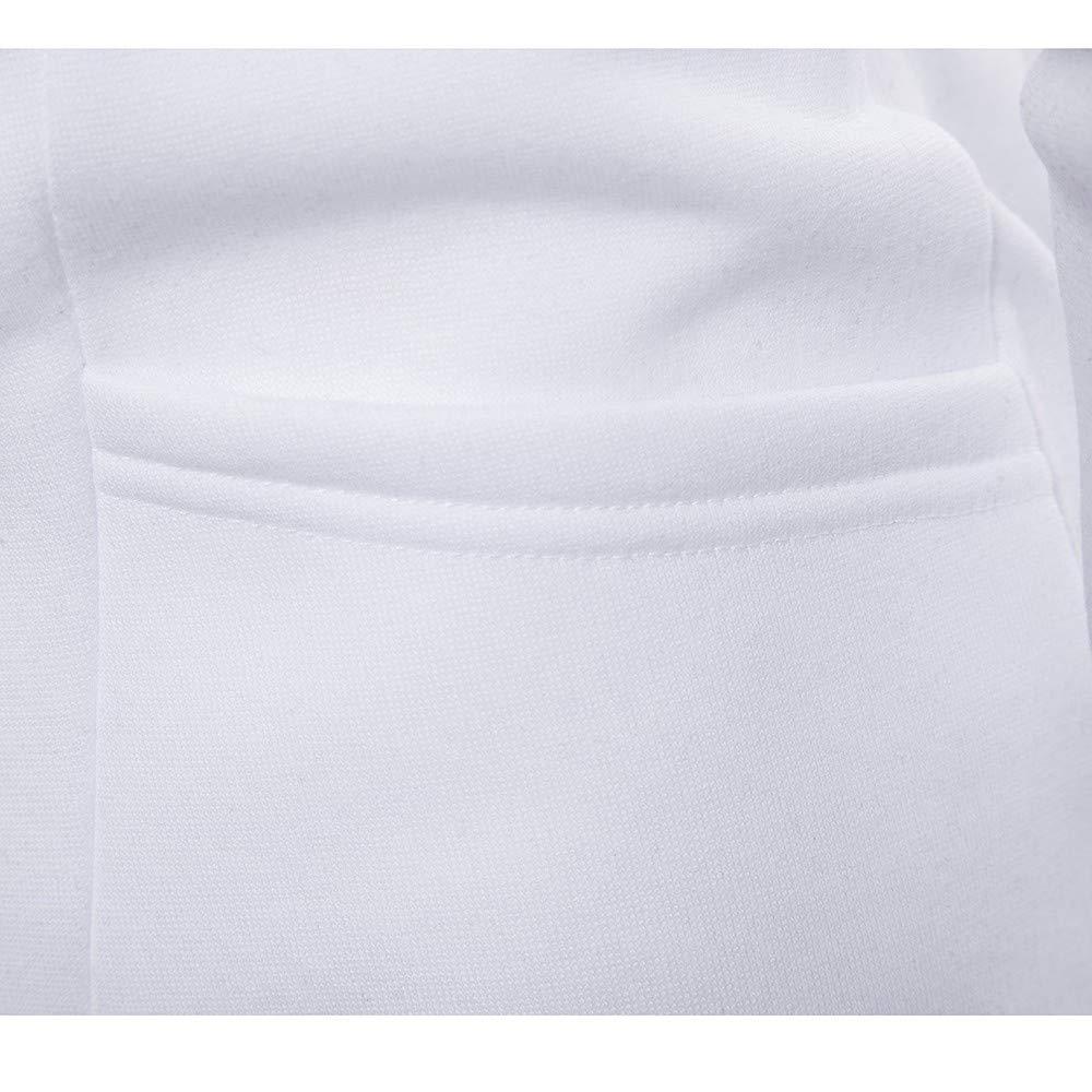 YKARITIANNA Mens Casual Fleece Soft 2019 Casual Spring Long Sleeve Pullover Sweatshirt Hoodie Solid Coat Turtle Neck Top