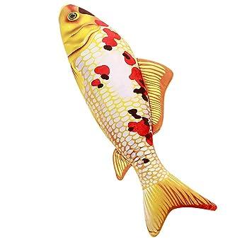 SO-buts - Cojín de Silueta de pez, Relleno de Pescado, E ...