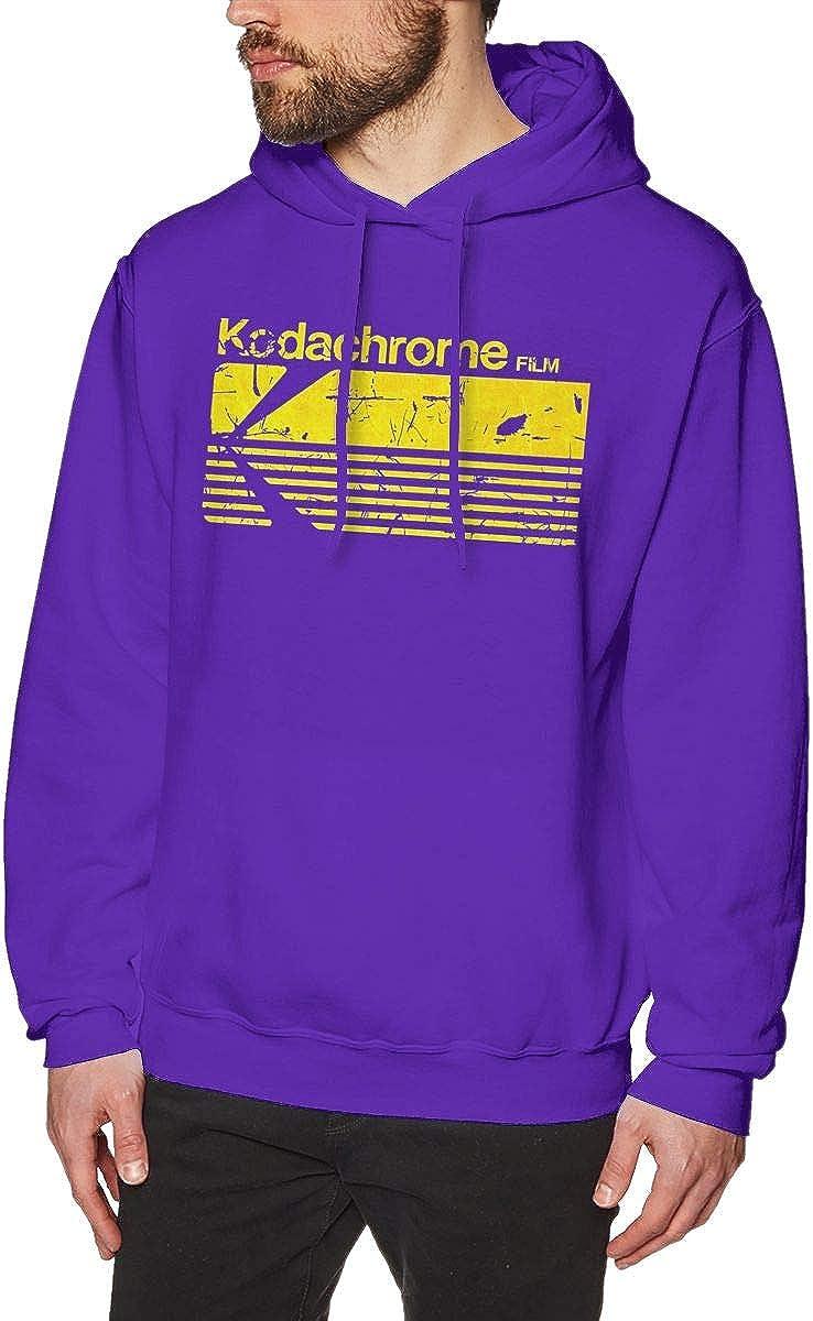 Kodak Kodachrome Mens Pullover Hoodies Crewneck Long Sleeve Sweatshirt