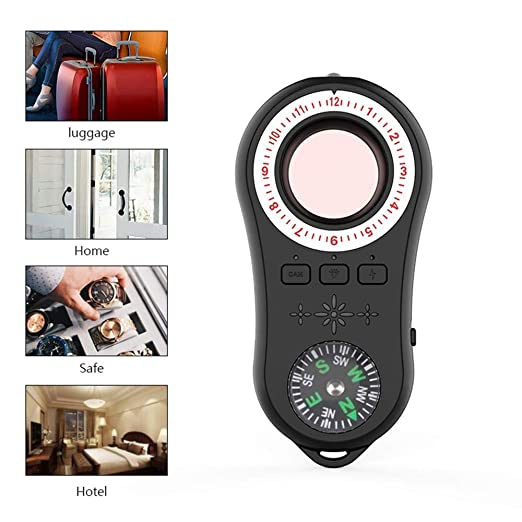 FOONEE Detector De Cámara Oculta Anti Spy, Detector De ...