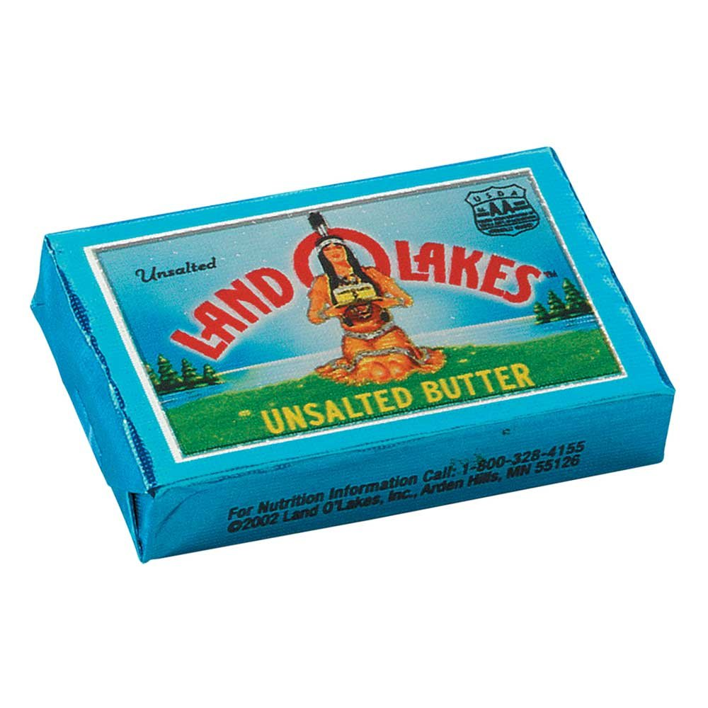 Land O Lakes Unsalted Butter Continental, 3.33 Pound - 4 per case. by Land O Lakes