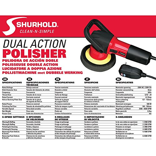 Shurhold 3200 EU Version Dual Action Polisher by Shurhold (Image #3)