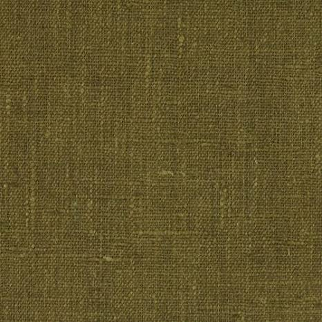 Basket Weave 100/% Linen Fabric Heavy Weight Dark Olive By the Yard