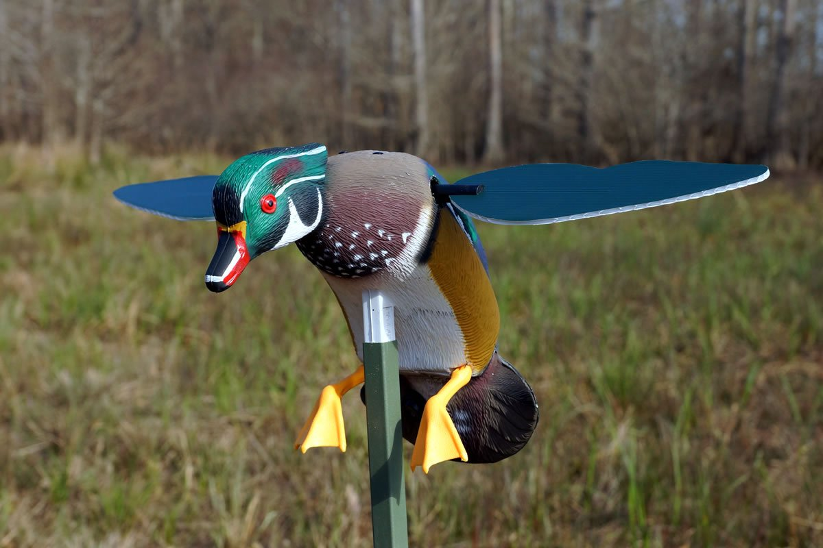 MOJO Outdoors Screamin' Woody Drake Wood Duck Decoy by MOJO Outdoors (Image #1)