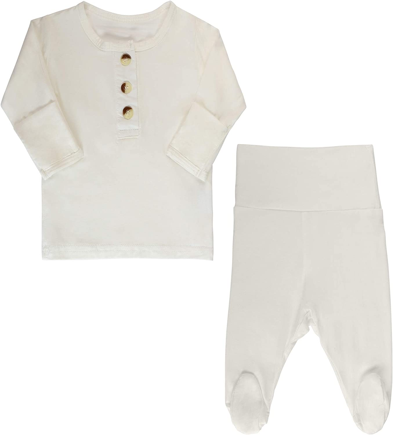 Top + Bottom Unisex Going Home Outfit Baby Boy - Girl   Newborn Boy Take Home Outfit Set