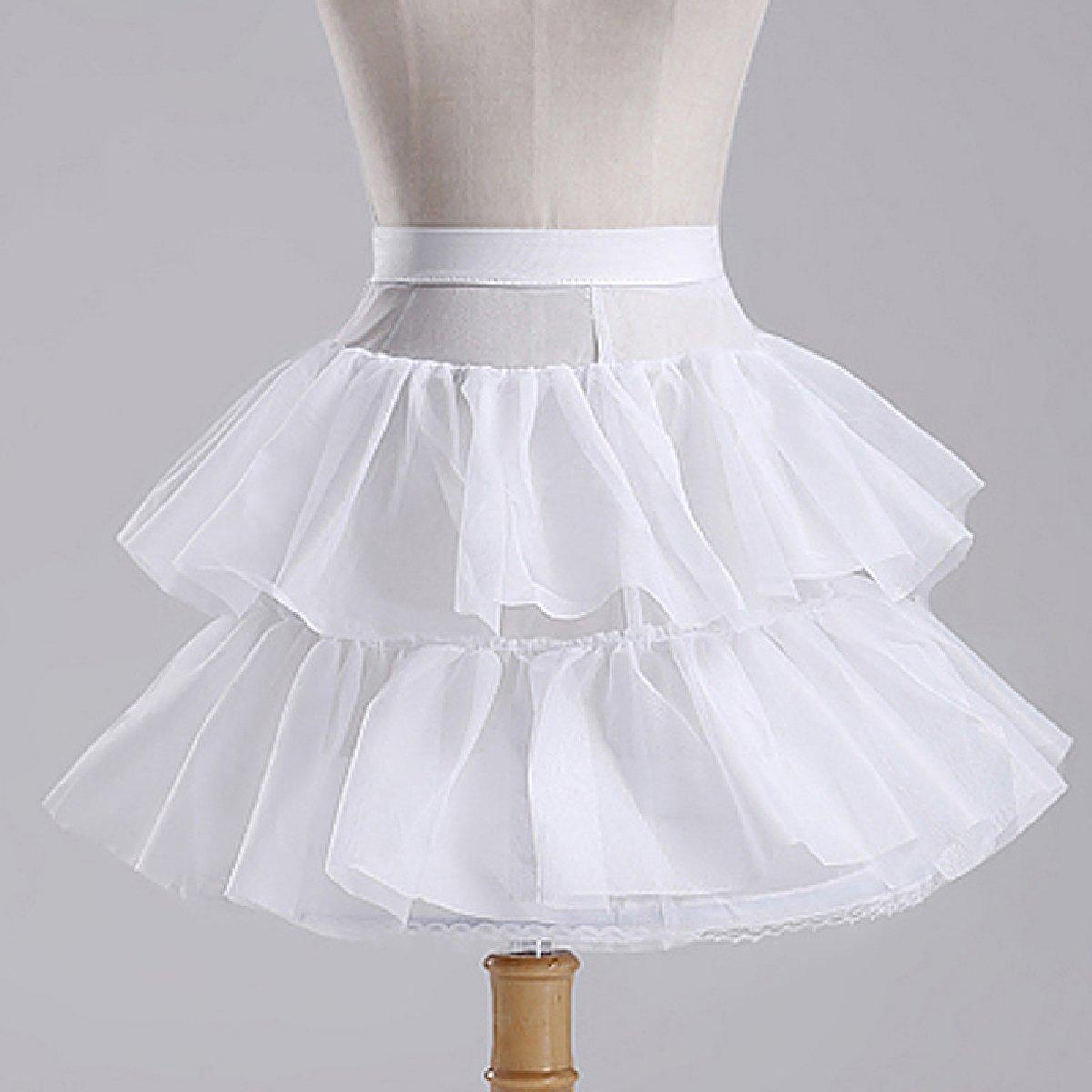 Girls A line Weeding Flower Girl Underskirt Crinoline Petticoat MPC031