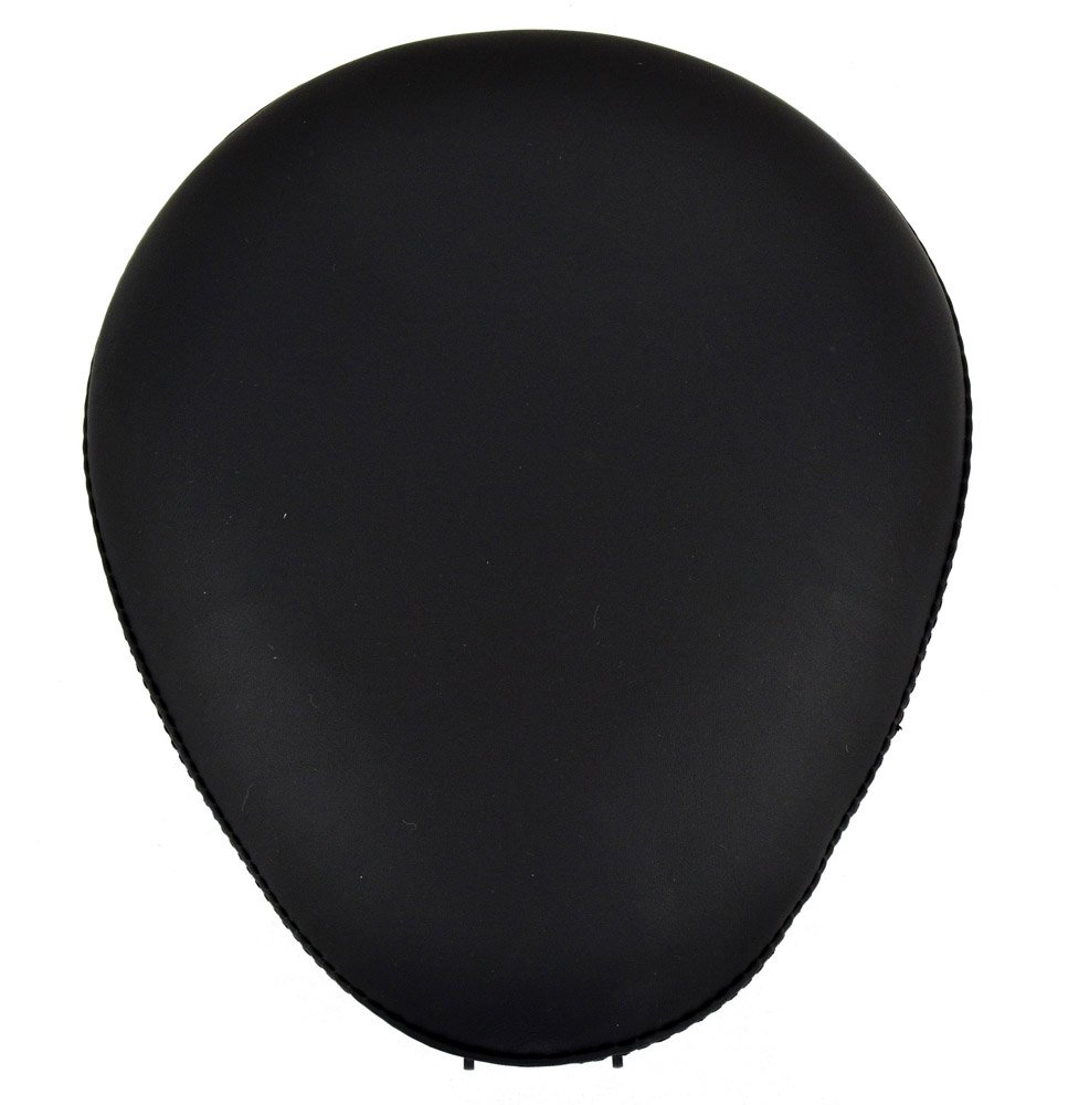 9'' Bobber Solo Seat for Harley-Davidson or Indian Black Plain