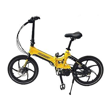 Amazon.com: Kommon - Bicicleta eléctrica compacta con ...