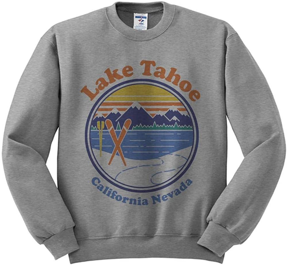 TeesAndTankYou Lake Tahoe Sweatshirt Unisex