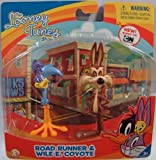 The Looney Tunes Show Figures, Road Runner and Wile E. Coyote, 2-Pack
