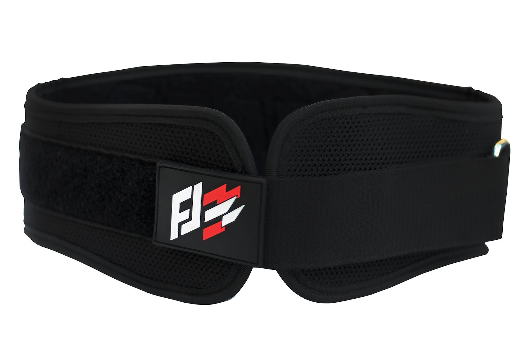 Fit jab sports Weightlifting Belt (Black, Small)