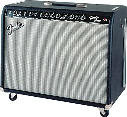 Fender twin-amp 100 W 2 x 12 Combo Amplificador para guitarra