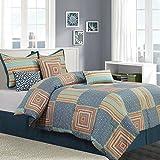 Nanshing Amias 7 Piece Reversible Comforter Set