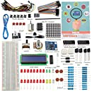 SunFounder Project Super Starter Kit with Tutorial Book for Arduino UNO R3 Mega2560 Mega328 Nano (Super Starter Kit) - Including 73 Page Instructions Book