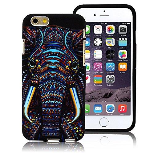 iPhone 6s/6 Case,LoTus Glow in the Dark Cute Cartoon Colorful Hybrid Fancy...
