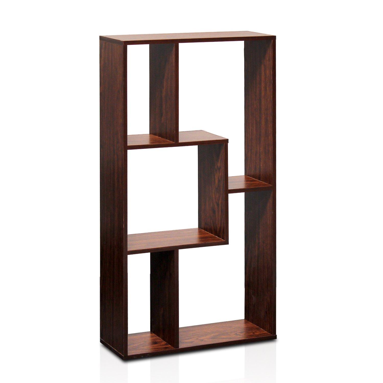 Beautiful Amazon.com: Furinno FNAJ 11073 Boyate Magic Cube Five Grid Storage Rack,  Walnut: Kitchen U0026 Dining