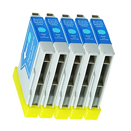 5 Cartuchos de Tinta para Impresora Brother DCP 130 C SCP ...