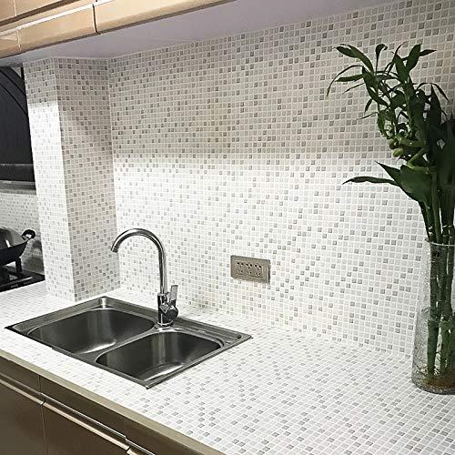 fenjinsheng Fliesenaufkleber 60X300Cm Badezimmer Mosaik ...