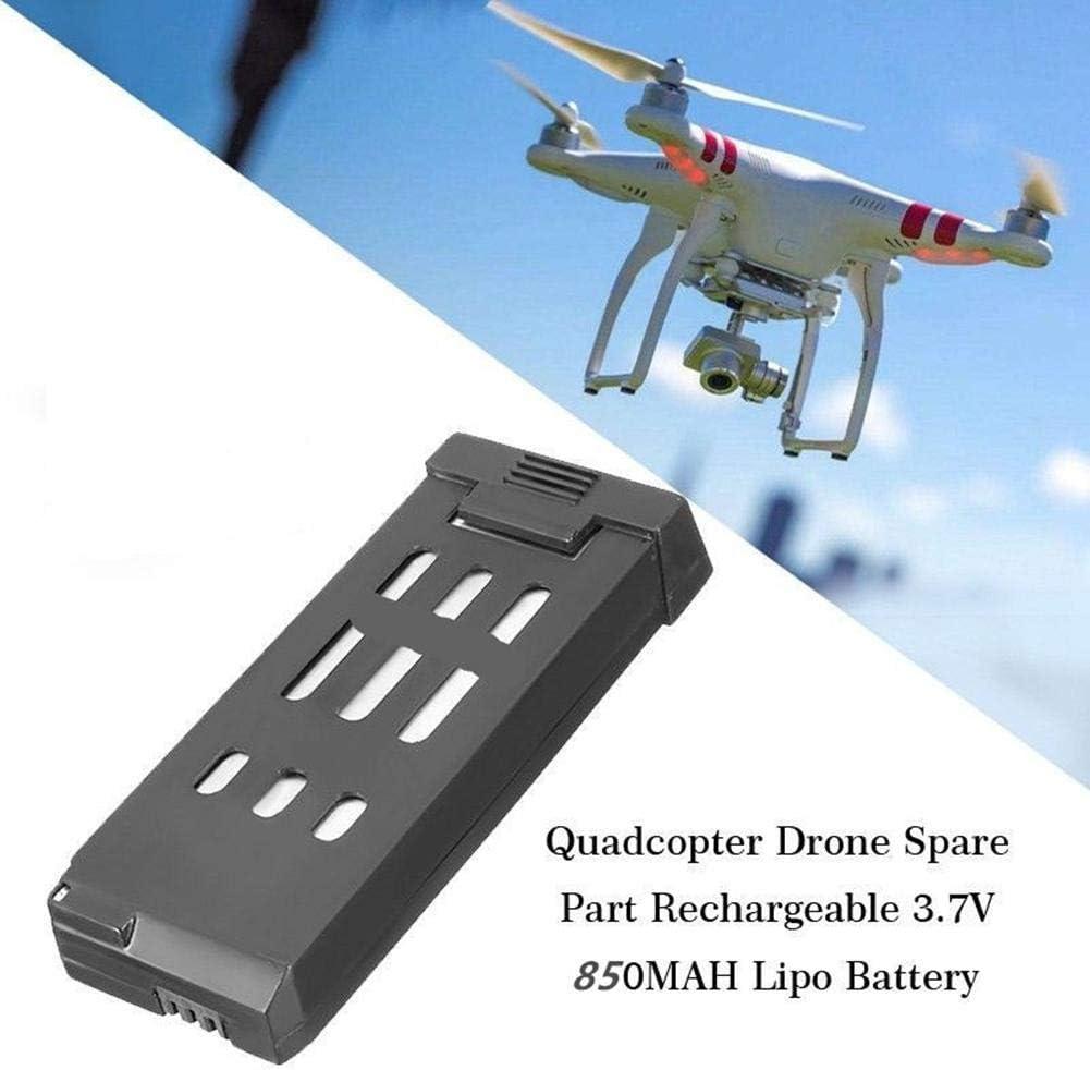 2 x 3.7V 850MAH Batteria per Eachine E58 Quadcopter Drone X Pro