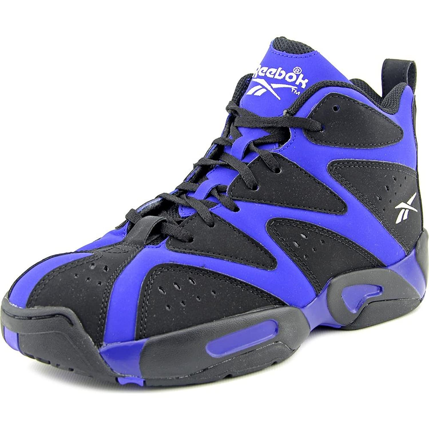 Amazon.com | Reebok Kamikaze I Mid Basketball Sneaker (Little Kid) |  Basketball