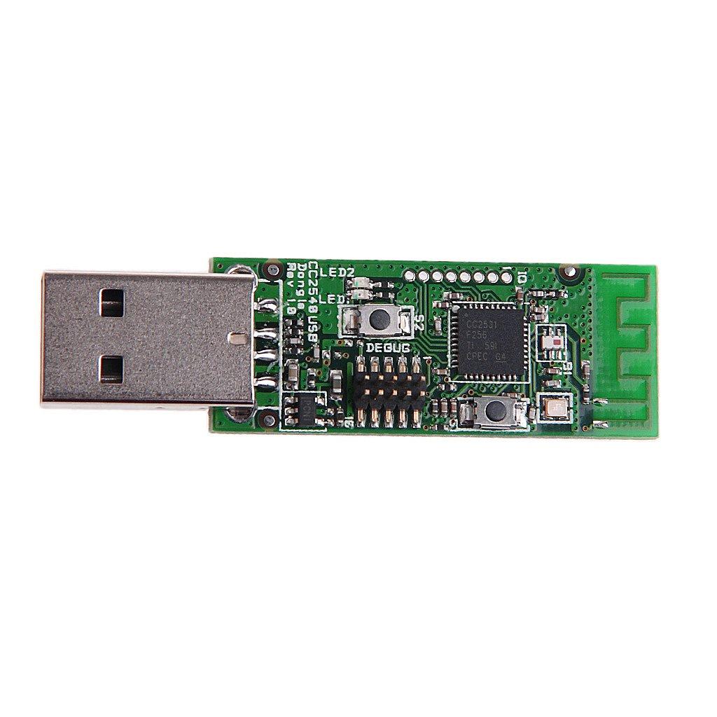 Amazon com: Bettal 1 6mm Wireless CC2531 Sniffer Bare Board Protocol