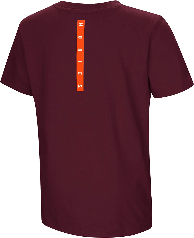 Colosseum NCAA Youth Boys-Talk The Talk-Cotton T-Shirt
