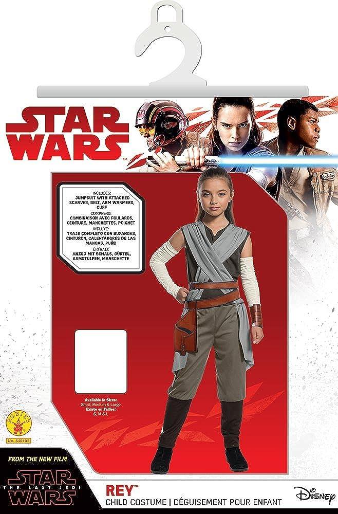 Amazon.com: Star Wars The Last Jedi Classic Rey Kids Costume ...
