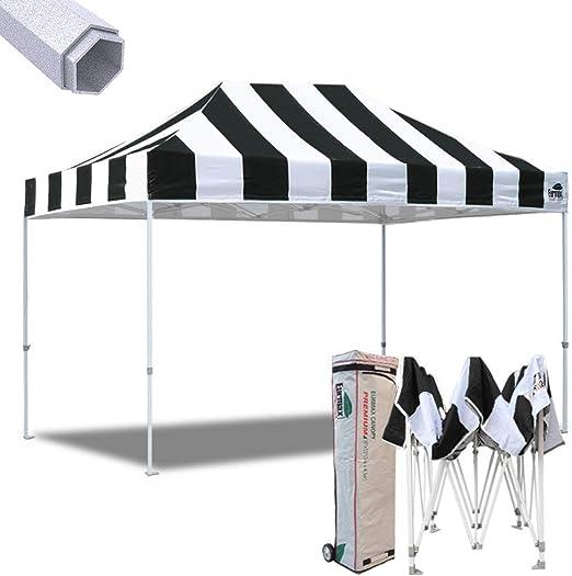 New eurmax 10 x 15 FT Premium EZ Pop Up Canopy Instant Refugio ...