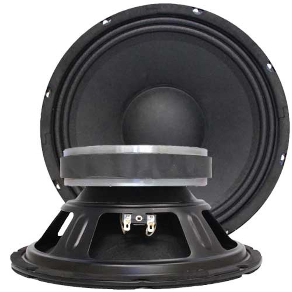 Seismic Audio Jolt-10Pair Bass Guitar Raw Woofers Speaker Driver Pro Audio Replacements, 10-Inch