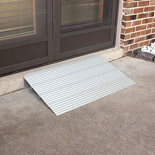 Silver Spring Rage Powersports THR1 Aluminum Threshold Ramp by Silver Spring (Image #3)