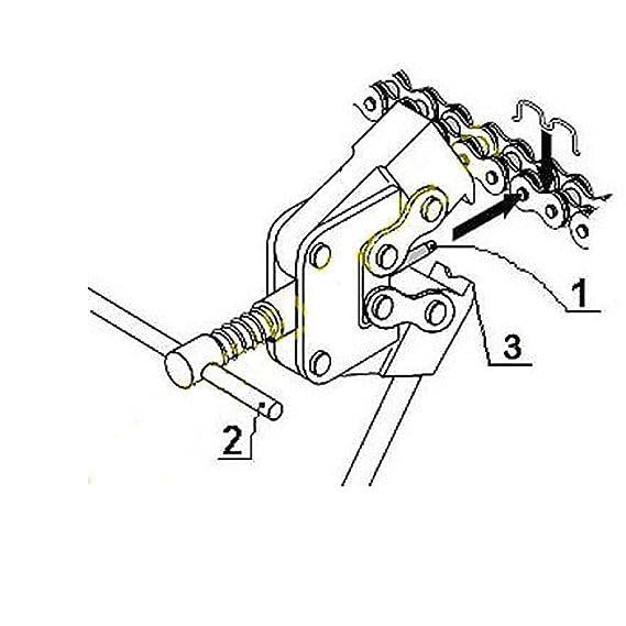Amazon Com 415h 110l Chainchain Breaker For 49cc 80cc Motorized