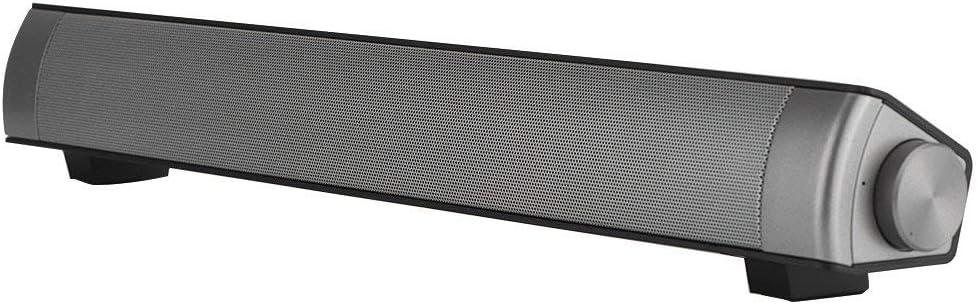 Barra de sonido de cine en casa, Hi-Fi Bluetooth bajo pesado barra de sonido de
