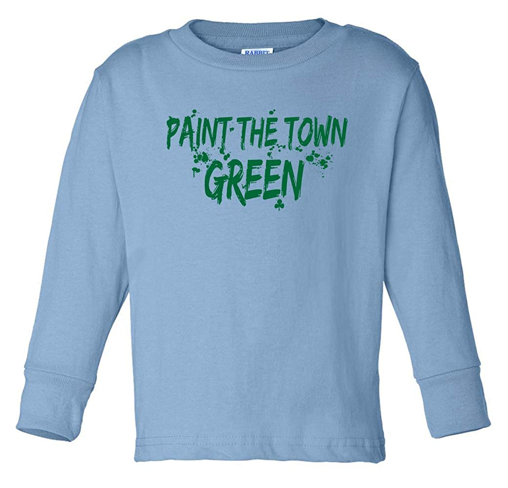 Tenacitee Babys Paint The Town Green Shirt