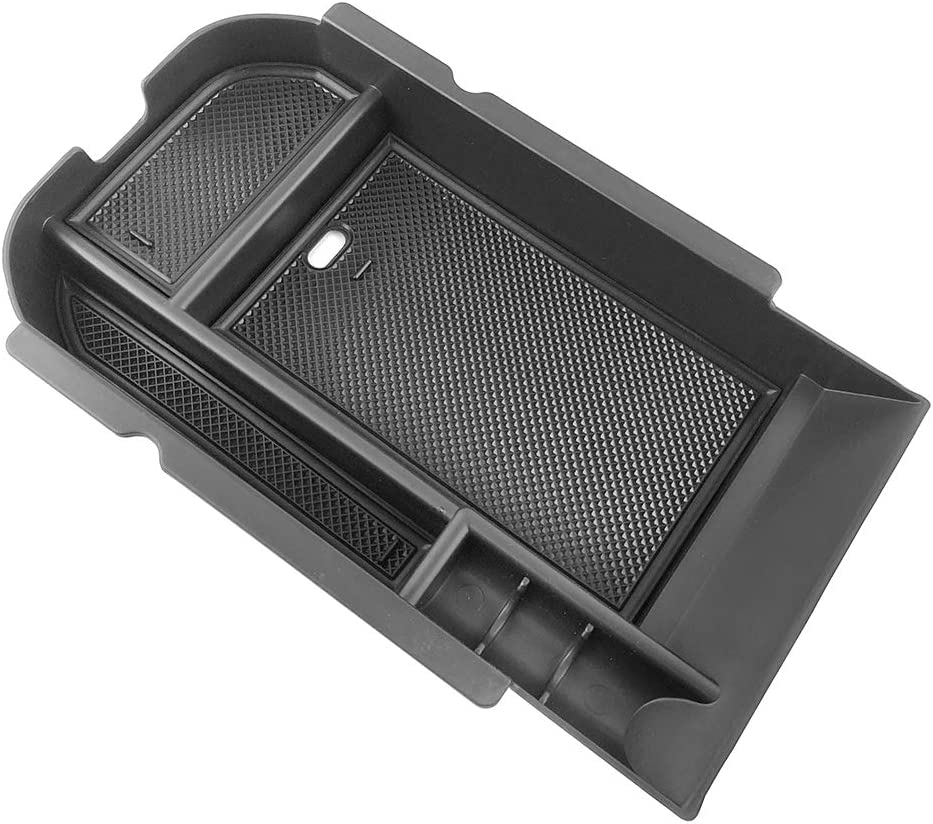 Yeeoy Center Console Insert Organizer Tray Armrest Box Glove Box Storage Fits 2019 2020 Toyota RAV4