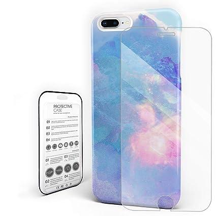 Amazon.com: Carcasa para teléfono móvil redonda de color ...