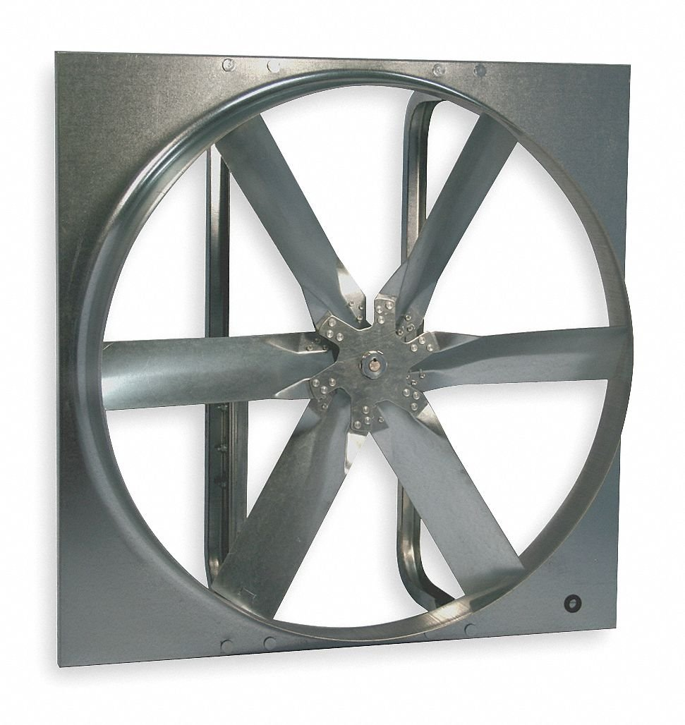 "24""-Dia. Exhaust Fan, Standard Duty Belt Drive Less Drive Package 617njDD-tnL._SL1028_"