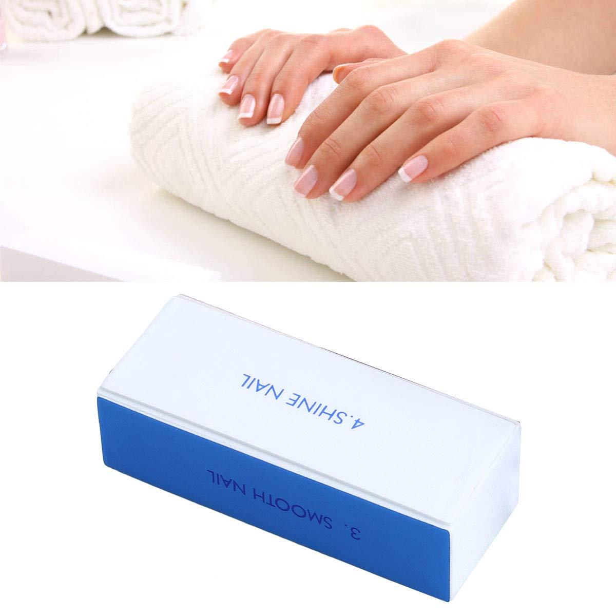 4-Way Nail Buffer Nail Shiner Sponge Nail Files Sanding Blocks 10pcs