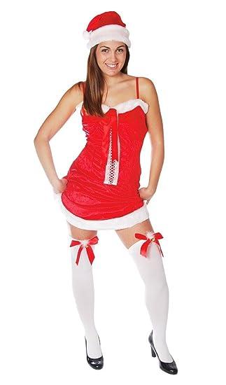 GUIRMA Traje Madre Navidad, Sexy Santa Claus para Mujer ...