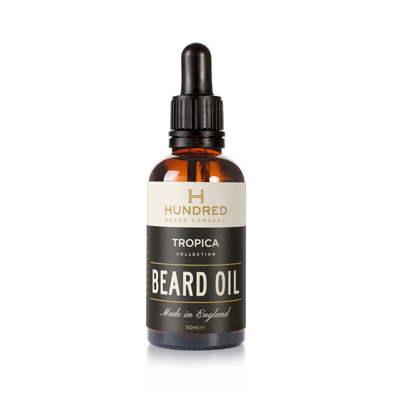 Beard Oil, Tropica Blend, Natural, 100ml - 7 Premium Oils Blended Into a Mouth Watering Concoction - Guaranteed to Soften Your Beard and Make it Kissable Huntsman Beard