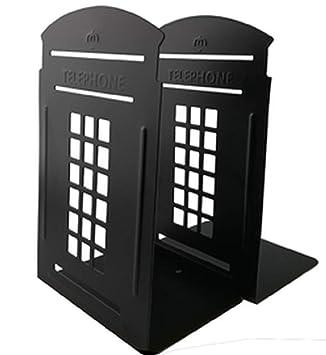 Telefonkabine Metall Buchstutzen Dekorative Buchstutzen Schreibtisch