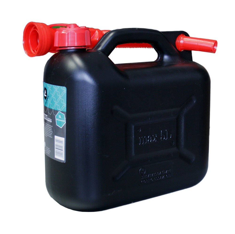 AUTONIK 126600 Fuel Canister 5 L Plastic Car Topic GmbH