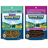 Natural Balance L.I.T. Limited Ingredient Treats Jumpin' Stix Dog Treats Variety Pack – 4 Ounces – 2 Flavors – Venison & Sweet Potato and Chicken & Sweet Potato Review