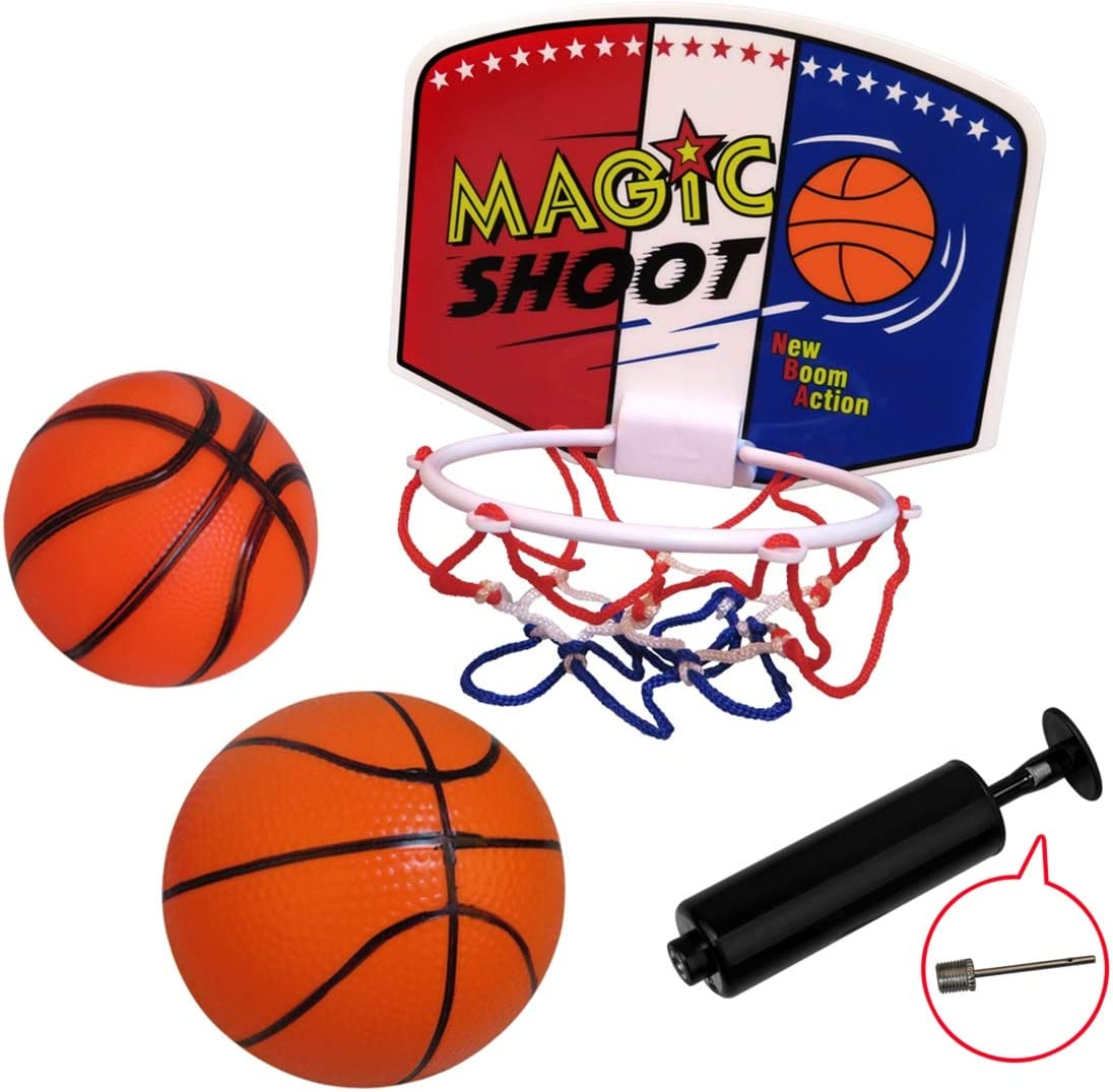 Plastic Electronic Circuits Building Kits Shooting Basketball Set Kids Toy