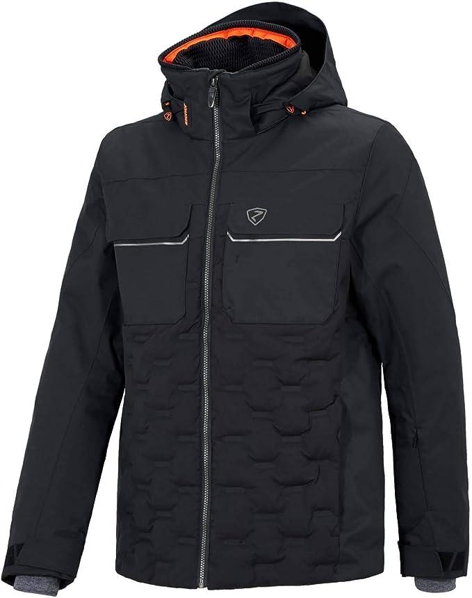 Ziener Tucannon Men Ski Jacket black: Amazon.co.uk: Clothing
